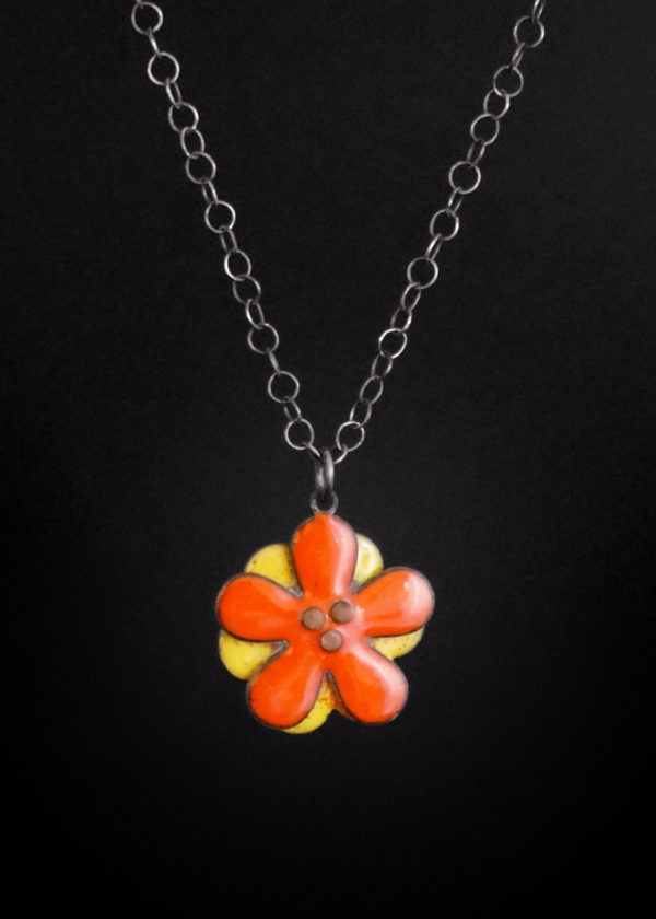 Orange Blossom Necklace