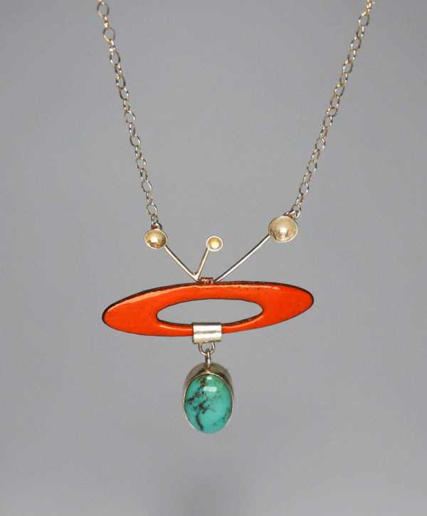 Outer Space Necklace